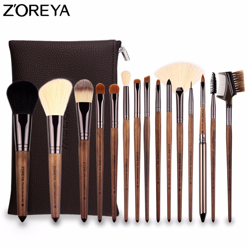 [해외]ZOREYA 프로페셔널 메이크업 브러쉬 15pcs 메이크업 브러쉬 파우더 컨투어 파운데이션 컨실러 코스메틱 툴 2018 업데이트 모델/ZOREYA Professional Makeup Brushes 15pcs Make Up Brush Powder Contour