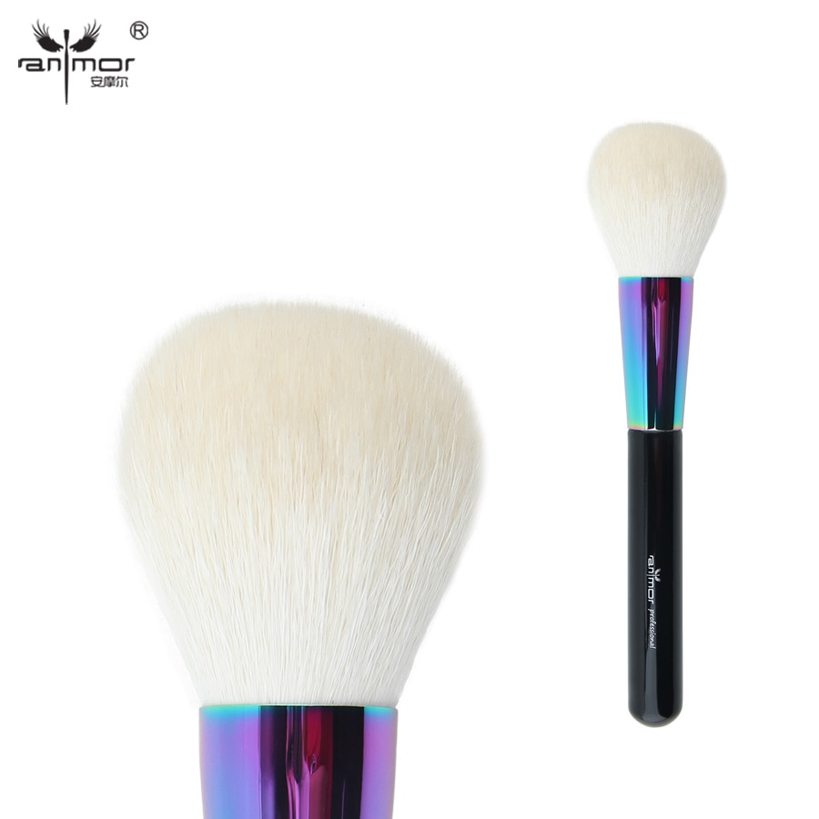 [해외]Anmor Goat Hair Large Powder Brush  Professional Makeup Brushes Soft Kabuki Brush CFCB-B01/Anmor Goat Hair Large Powder Brush  Professional Makeup