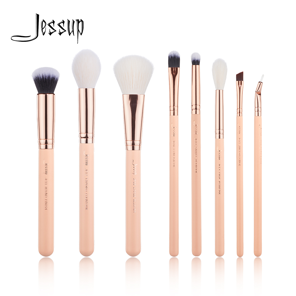 [해외]NEW Jessup Brushes 8PCS Makeup brushes set Beauty kits Make up brush Cosmetic tools POWDER COUNTOUR BLUSHER BLENDER/NEW Jessup Brushes 8PCS Makeup