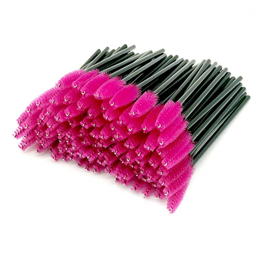 [해외]1000pcs Rose Eyelash Brush New Fashion Cosmetic Disposable Eyelashes Mini Brush Mascara Wands Applicator Makeup Beauty Tools/1000pcs Rose Eyelash