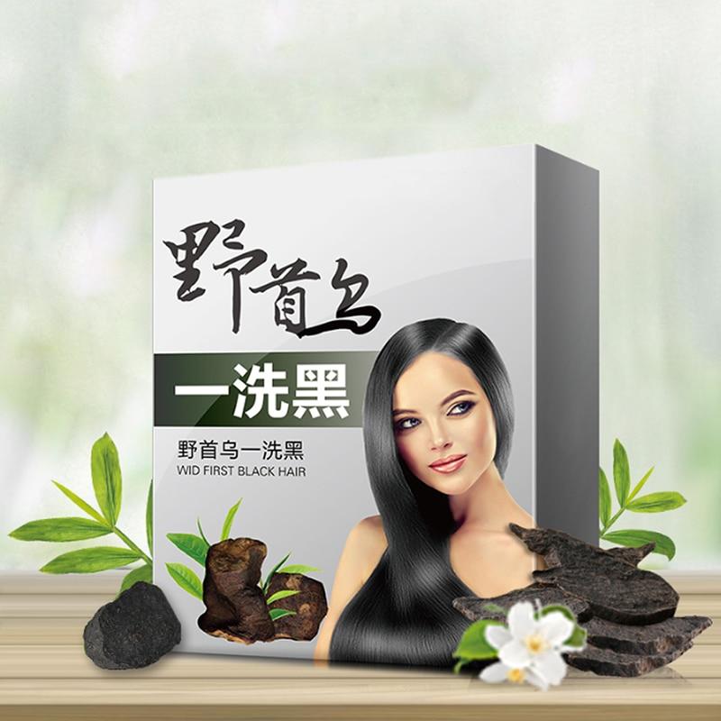 [해외]자연적인 순수한 식물 성분 부작용 없음 반영구적 인 머리 색깔 UniNatural 머리 형 검정 색깔 머리 염색/Natural Pure Plants Ingredient No Side Effects Semi-permanent Hair Color UniNatural