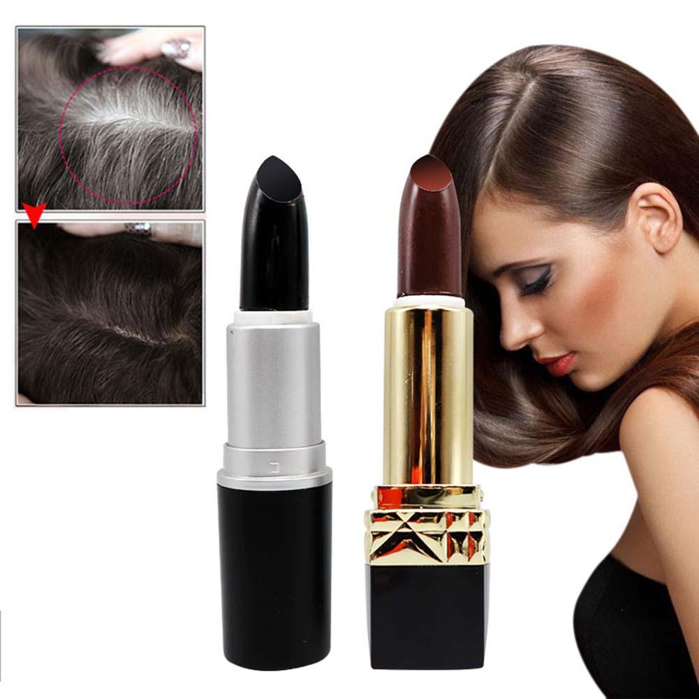 [해외]1pcs Hair Chalk Lipstick Shape Non-toxic Temporary Dyeing Hairs Color Pen Practical Hair Color Cream/1pcs Hair Chalk Lipstick Shape Non-toxic Temp