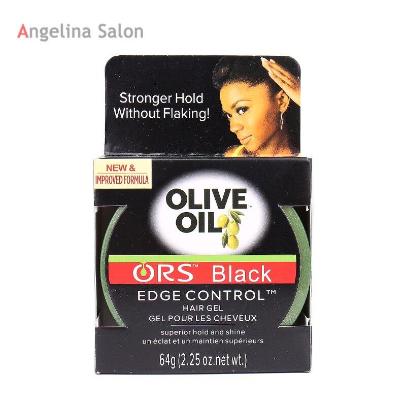 [해외]/ ORS Making Hair Black Edge Control Hair Wax Gel /64g