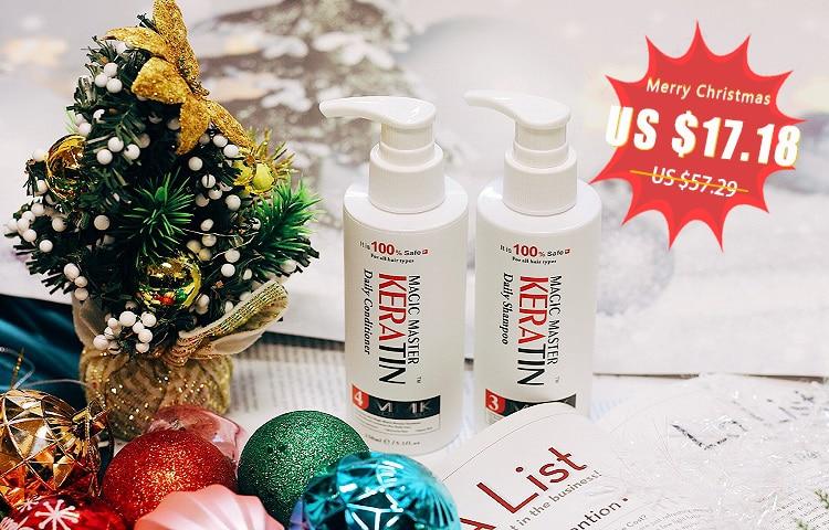 [해외]/2Pcs New Products Best Selling 150mk Magic Master Daily Dry Shampoo and Deep Conditioner Moisturizing Repair Damaged For Hair