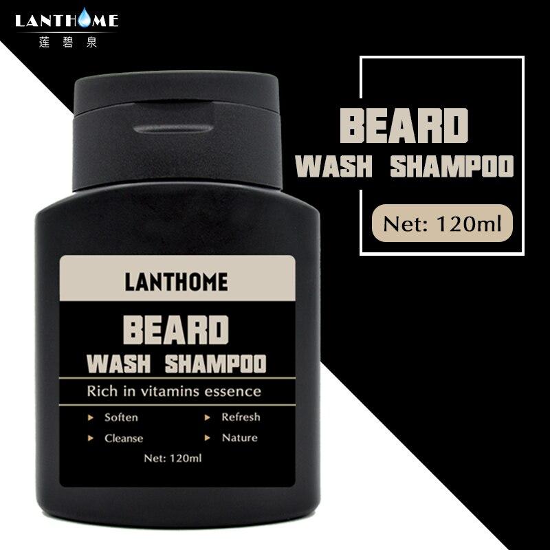 [해외]1PC 란트 홈 비타민 헤어 비어드 케어 샴푸 남성 선물 수염 청소 보조 기계 모이스처 라이저 딥 클렌징 비어드 워시/1PC Lanthome Vitamin Hair Beard Care Shampoo Men`s Gift Beard Cleaning Assistanc