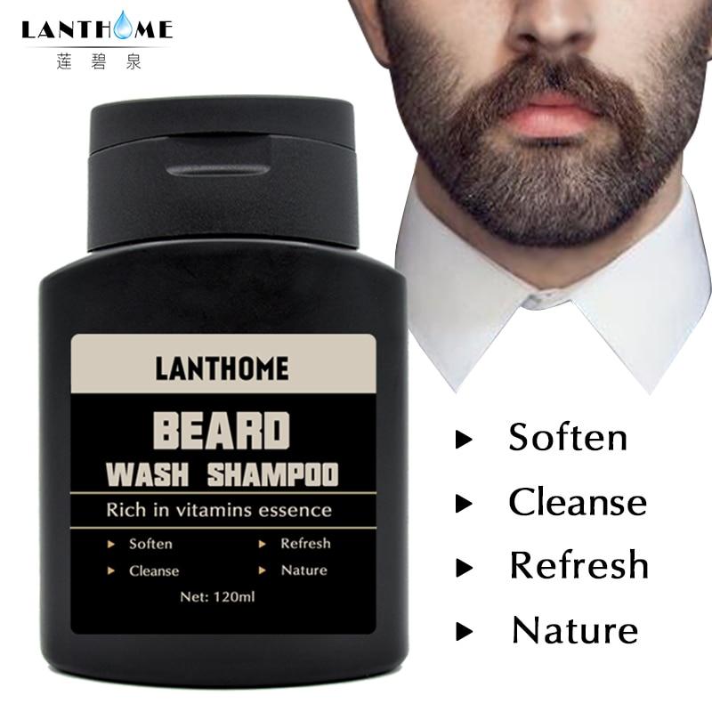 [해외]2pcs Vitamin Hair Beard Care Deep Cleansing Beard Wash Shampoo Beard Cleaning Assistance Machine Nourishing Beard Oil Men`s Gift/2pcs Vitamin Hair
