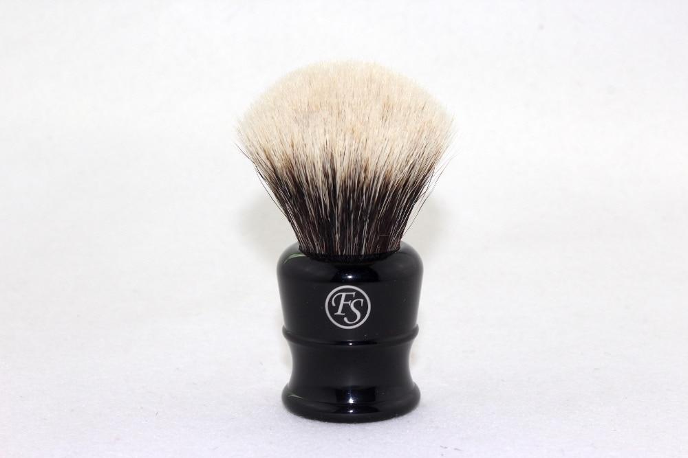 프랭크 쉐이빙 (fs)-# FI26-EB33, 가짜 흑단 손잡이가있는 최고급 오소리 면도 브러쉬, 매듭 26mm + 무료 스탠드 + 무료 배송
