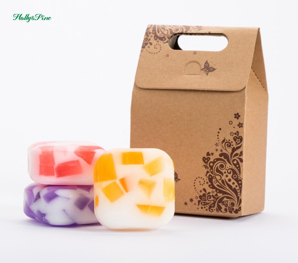[해외]3X100g 수제 비누, 에센셜 오일, 보습 및 영양 피부, 수제, 선물 세트/3X100g handmade soap , essential oil, moisturizing and nourishing skin , handmade, gift sets