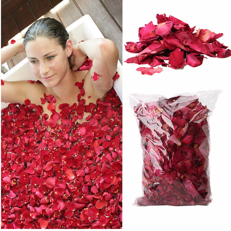 [해외]50g/Bag Dry Rose Petal Natural Flower Spa Bath Relieve Fragrant Body Massager/50g/Bag Dry Rose Petal Natural Flower Spa Bath Relieve Fragrant Body