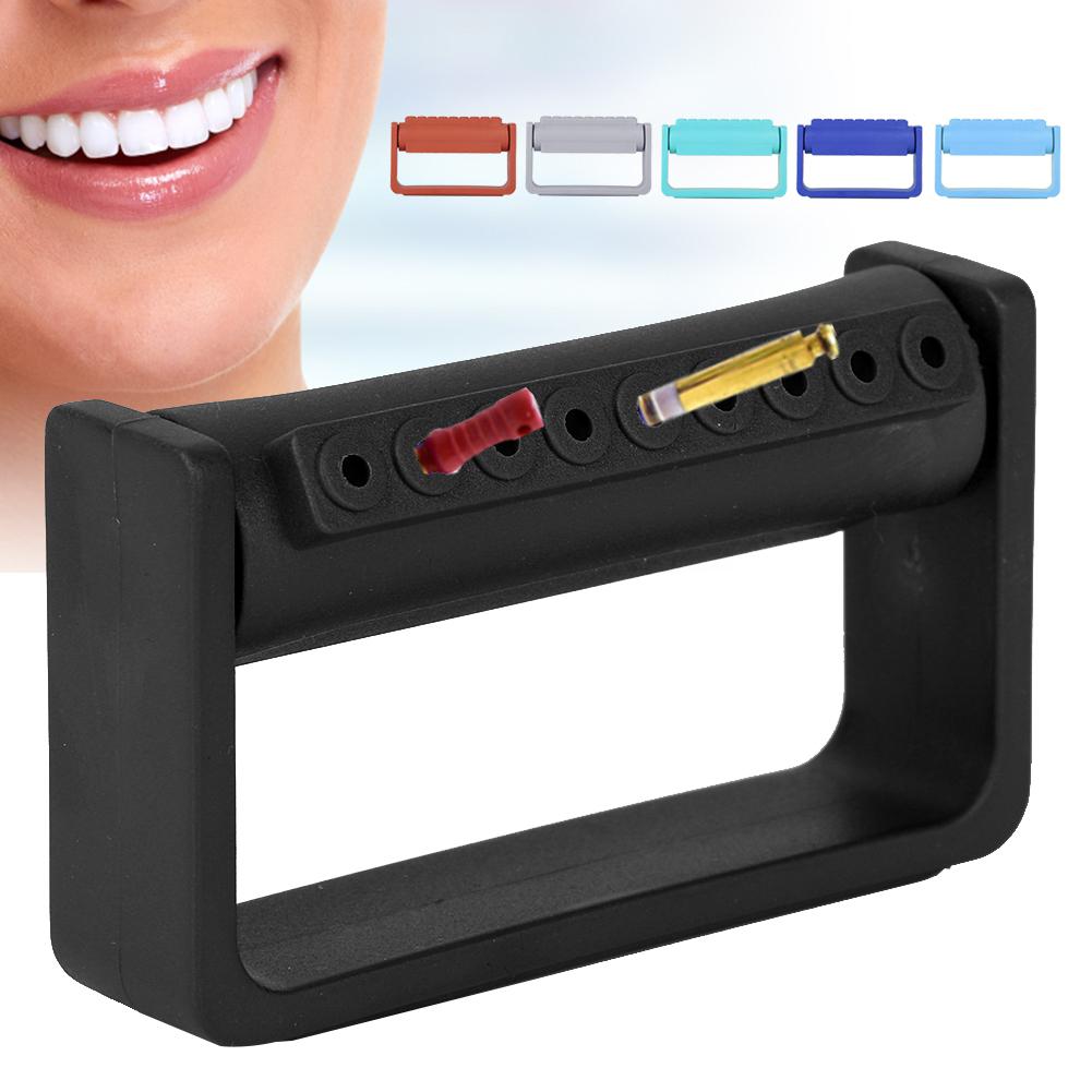 9 구멍 소독 상자 치과 burs 홀더 치과 소독 및 구강 관리에 적합한 autoclavable 구강 관리 도구 s
