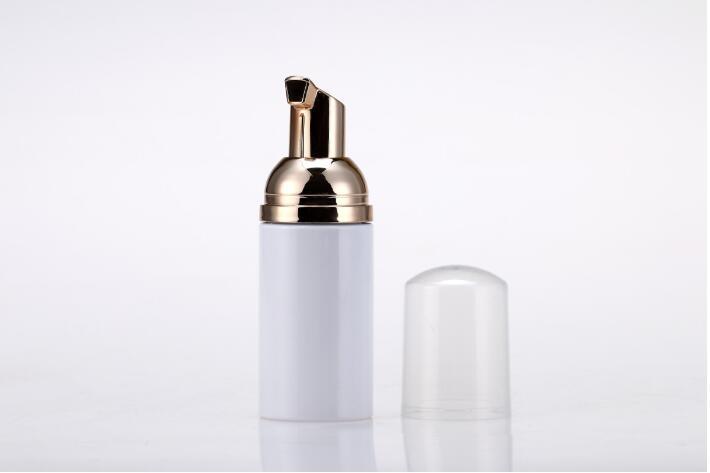[해외]10pcs/lot 30ml/50ml cosmetic facial Cleanser wash cream Plastic pet white/clear liquid soap Foam bottlegolden foamer pump/10pcs/lot 30ml/50ml cosm