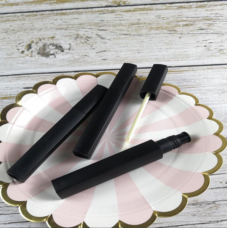 [해외]50 pcs 5 ml Square black handmade homemade lip gloss glaze  empty bottle high empty tube square black matte long lip glaze tube /50 pcs 5 ml Squar