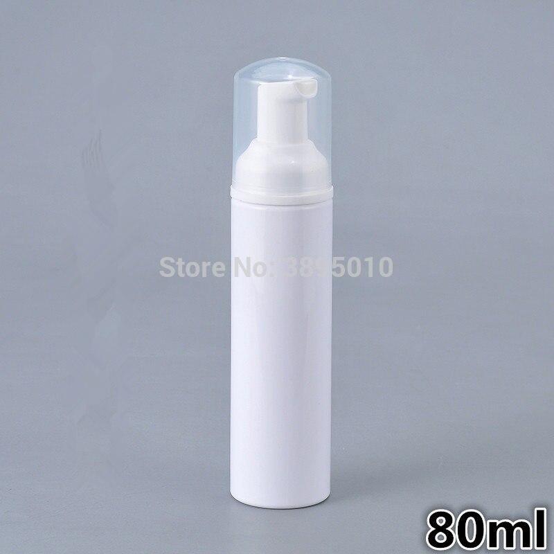 [해외]80 ml 애완 동물 거품 펌프 병 플라스틱 얼굴 클렌저 미니 비누 손 소독약 화장품 컨테이너 F1040/80ml PET Foaming Pump Bottles Plastic Face Cleanser Mini Soap Hand Sanitizer Cosmetic C