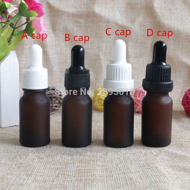 [해외]10 ml 호박 녹색 서 리 낀 유리 에센셜 오일 병 빈 유리 Dropper 유리 병 10cc 스포이드 병 F1039/10ml amber green Frosted Glass Essential Oil Bottle Empty Glass Dropper Vials 10