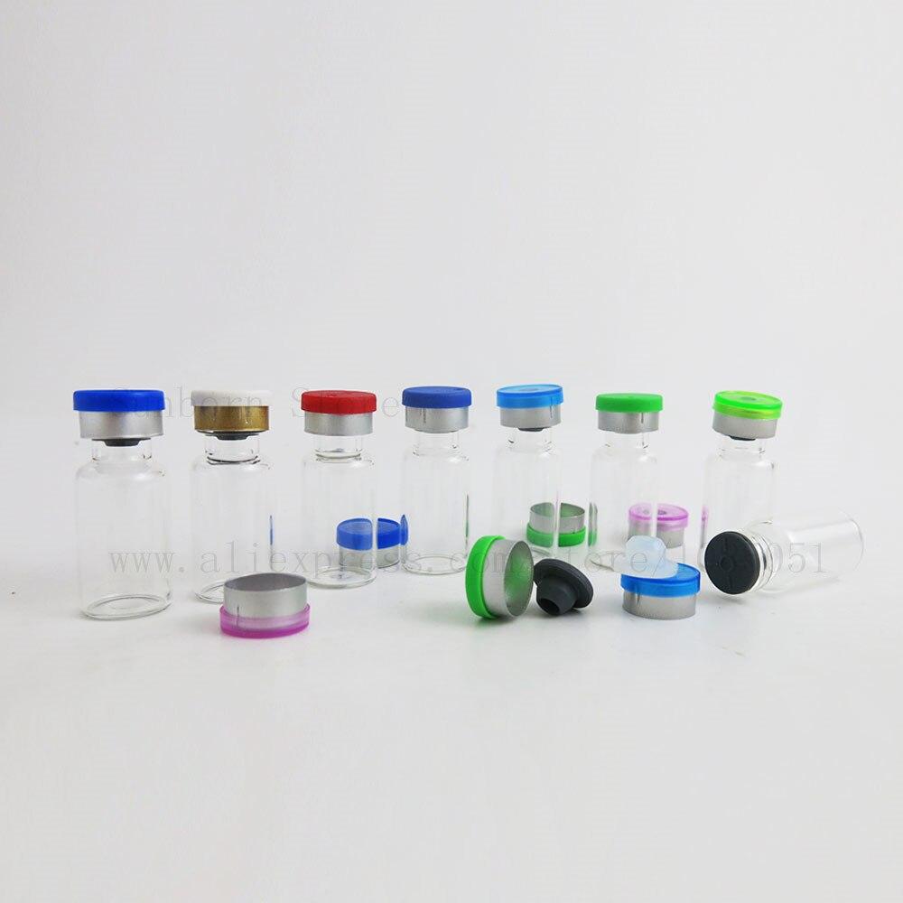 [해외]3ml 3cc Small Amber Clear Glass Injection Bottle VialFlip Off Cap & Rubber Stopper Liquid Medicine Bottles 1000pcs/3ml 3cc Small Amber Clear G