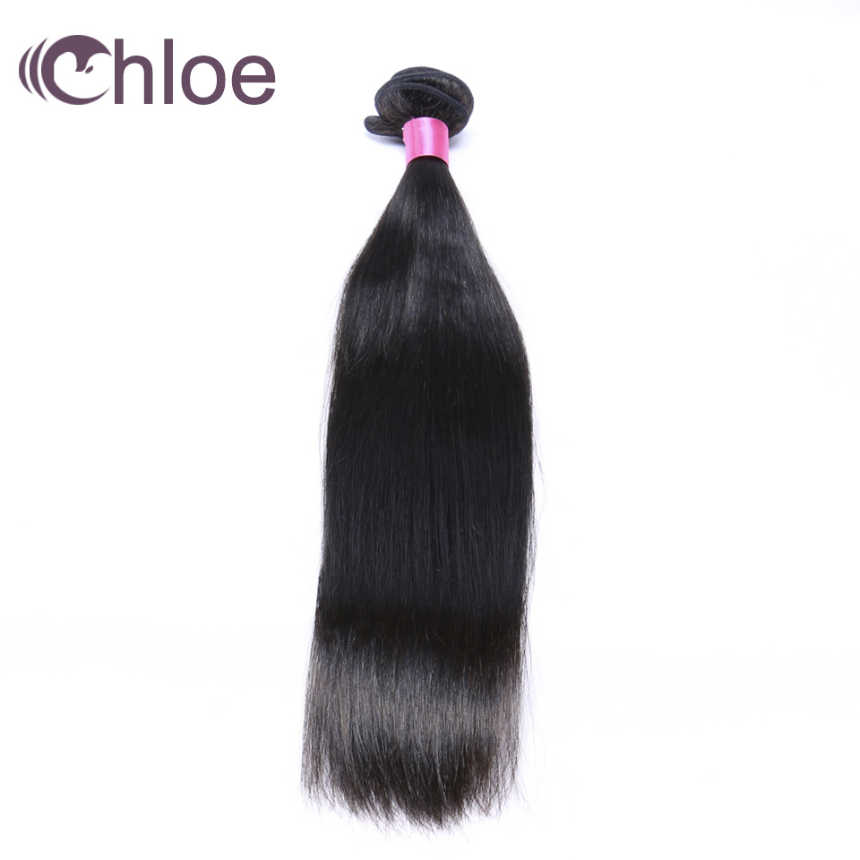 [해외]클로이 헤어 원피스 스트레이트 브라질 헤어 위브 번들 자연 색상 인간의 헤어 번들 100 % 레미 헤어 익스텐션/Chloe Hair One Piece Straight Brazilian Hair Weave Bundles Natural Color Human Hair