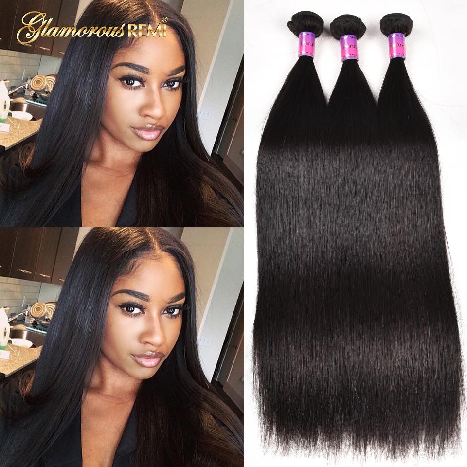 [해외]?8A 그레이드 페루 버진 헤어 스트레이트 3 번들 100 % 인간 헤어 익스텐션 페루 실키 스트레이트 헤어 위브 번들 특별 우대/ 8A Grade Peruvian Virgin Hair Straight 3 Bundles 100% Human Hair Extensi