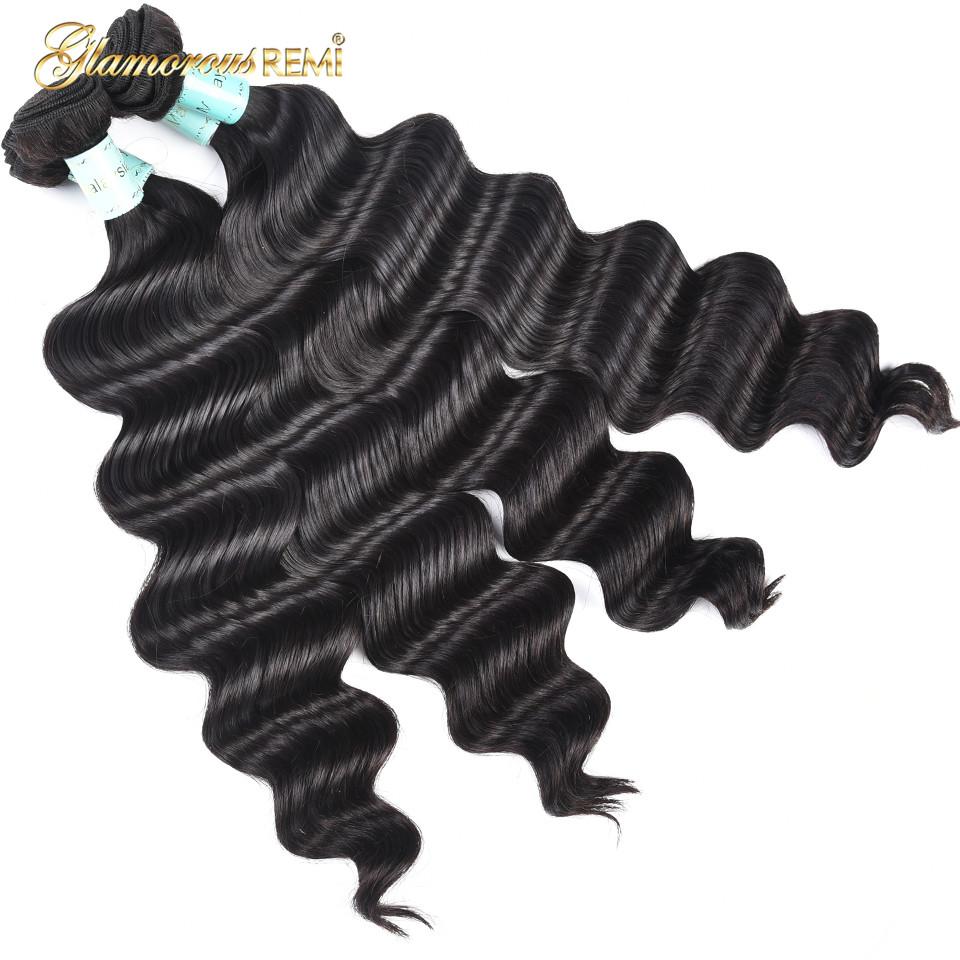 [해외]말레이시아 헤어 번들 느슨한 깊은 웨이브 100 % 인간의 머리카락 확장 레미 헤어 1/3/4 번들 자연 색상 더블 위사 헤어 위브/Malaysia Hair Bundles Loose Deep Wave 100% Human Hair Extensions Remy Ha