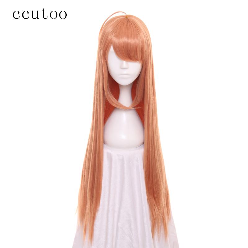 [해외]ccutoo 80cm / 32inch 롱 스트레이트 헤어 스타일 합성 가발 전체 Bangs 내열성 코스프레 가발 여성 & 의상 가발 의상 가발/ccutoo 80cm/32inch Long Straight Hairstyles Synthetic Wig Full