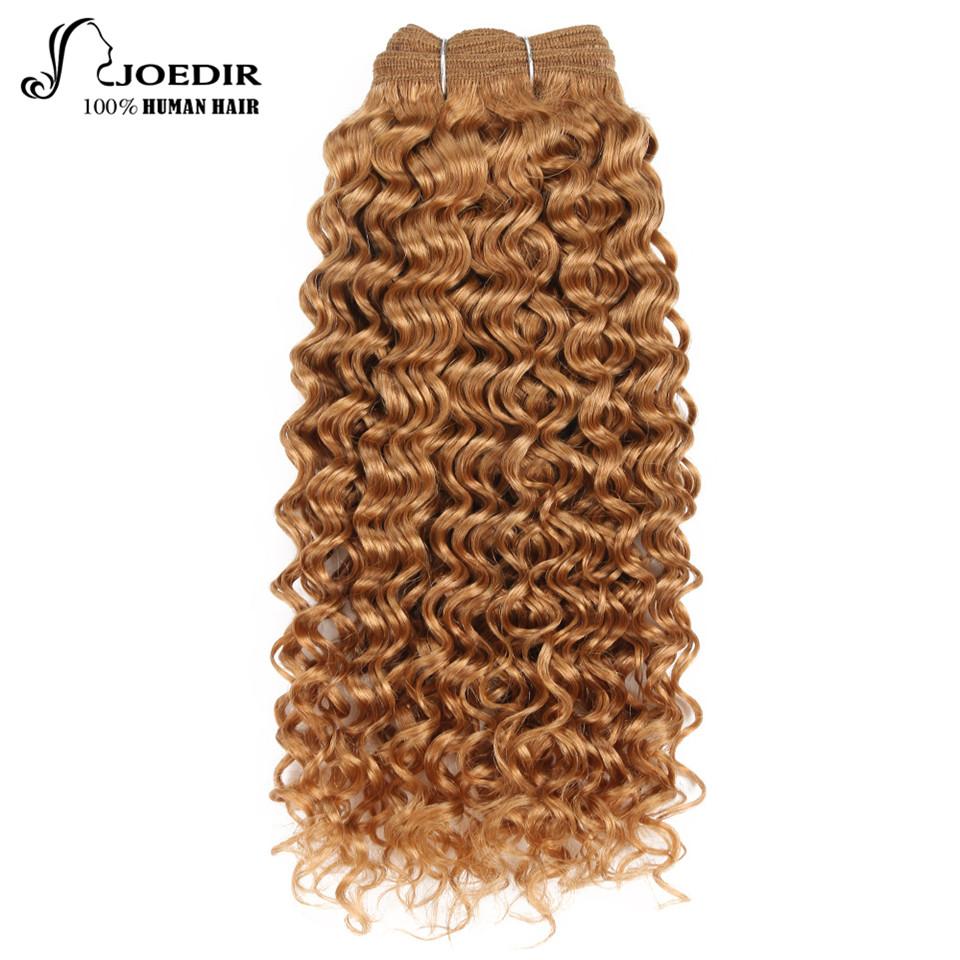 [해외]Joedir Hair Pre-Colored 브라질 레미 인 헤어 위브 Natural Dream Curl 16 사하라 블론드 T1B 버크 옹 브르 레드 헤어 번들/Joedir Hair Pre-Colored Brazilian Remy Human Hair Weave