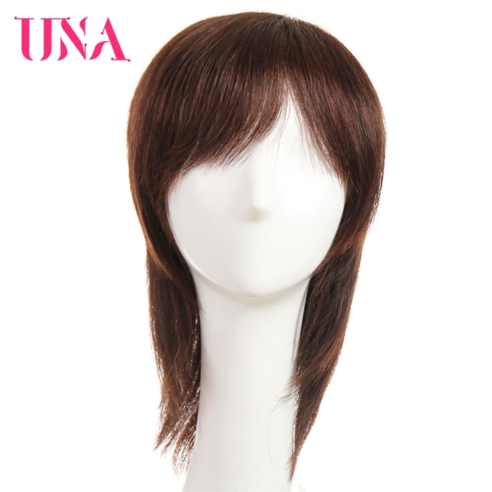 [해외]여성을UNA 인간의 머리 가발 비 - 레미 인간의 머리카락 150 % 밀도 인도 인간의 머리카락이 아닌 가발 비 - 레미 인도의 머리 가발 8 &/UNA Human Hair Wigs For Women Non-Remy Human Hair 150% Densi