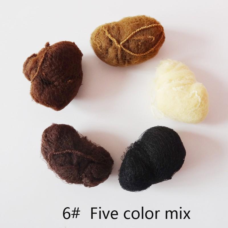 [해외]Hight 품질 20pcs / lot 탄성 나일론 Hairnets 검은 색 금발과 흰색 색상 보이지 않는 머리 그물 패키지 머리카락과 가발 모자/Hight Quality 20pcs/lot Elastic Nylon Hairnets Black Blonde and W