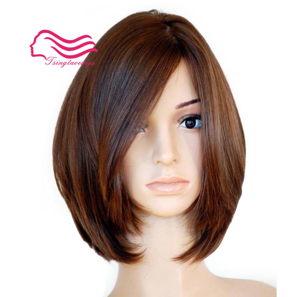 [해외]?100 % 미 처녀 유럽의 버진 머리카락 컬러 밥 스타일 유대인의 가발, 정결한 가발 베스트 Sheitels Tsingtaowigs/ 100% Unprocessed European virgin hair natural color  Bob Style  jewish