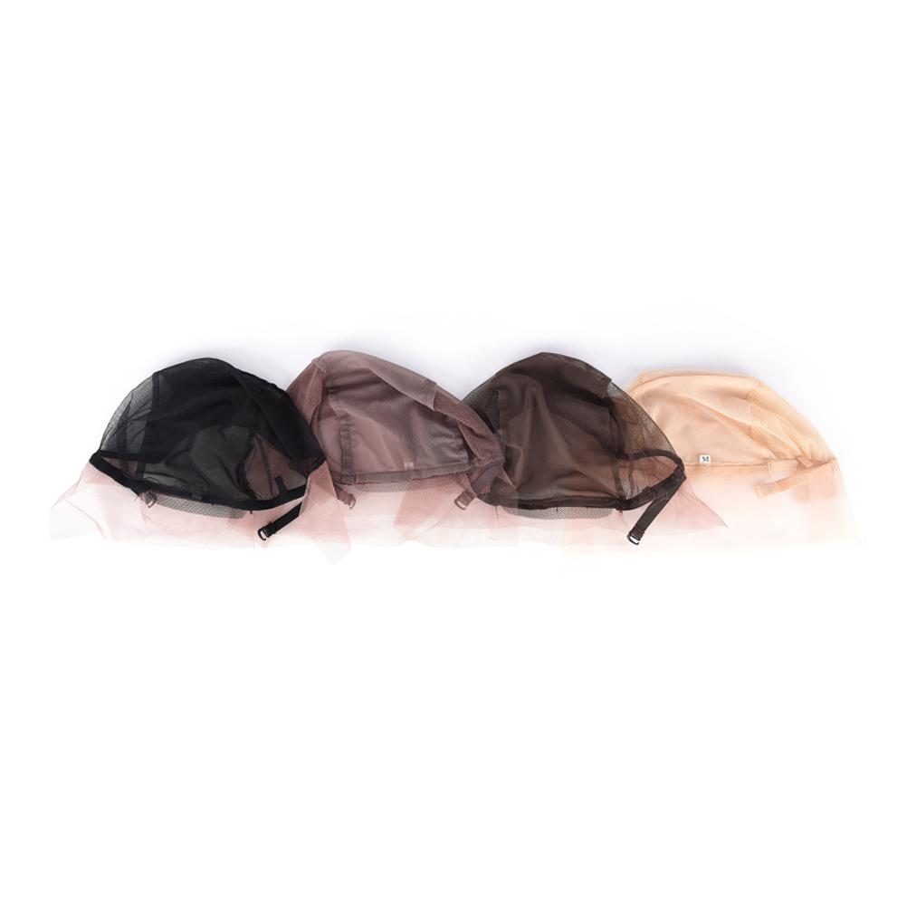 [해외]조정 가능한 레이스 전면가 발 모자를 만들기위 모자 캡 도구 모자 넷 빗 여성을부드러운 가발 모자/Adjustable Lace Front Wig Caps For Making WigsStrap Weaving Cap Tools Hair Net Hairnets sof