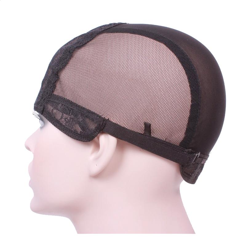 [해외]뒷면에 가발 끈을 만들기가발 모자 직조 모자 크기 S / M / L glueless 가발 모자/Wig cap for making wigsadjustable strap on the back weaving cap size S/M/L glueless wig caps