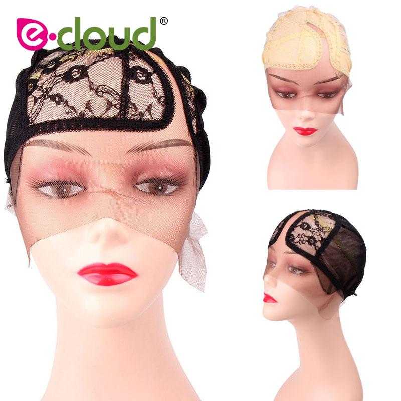 [해외]가발을 만들기7 스타일 헤어 가발 모자 스트레치 레이스 직조 모자 조절 스트랩 DIY 가발 주머 타임 55cm / 21.6 인치/7 Style Hair Wig Caps for Making Wigs Stretch Lace Weaving Cap Adjustable