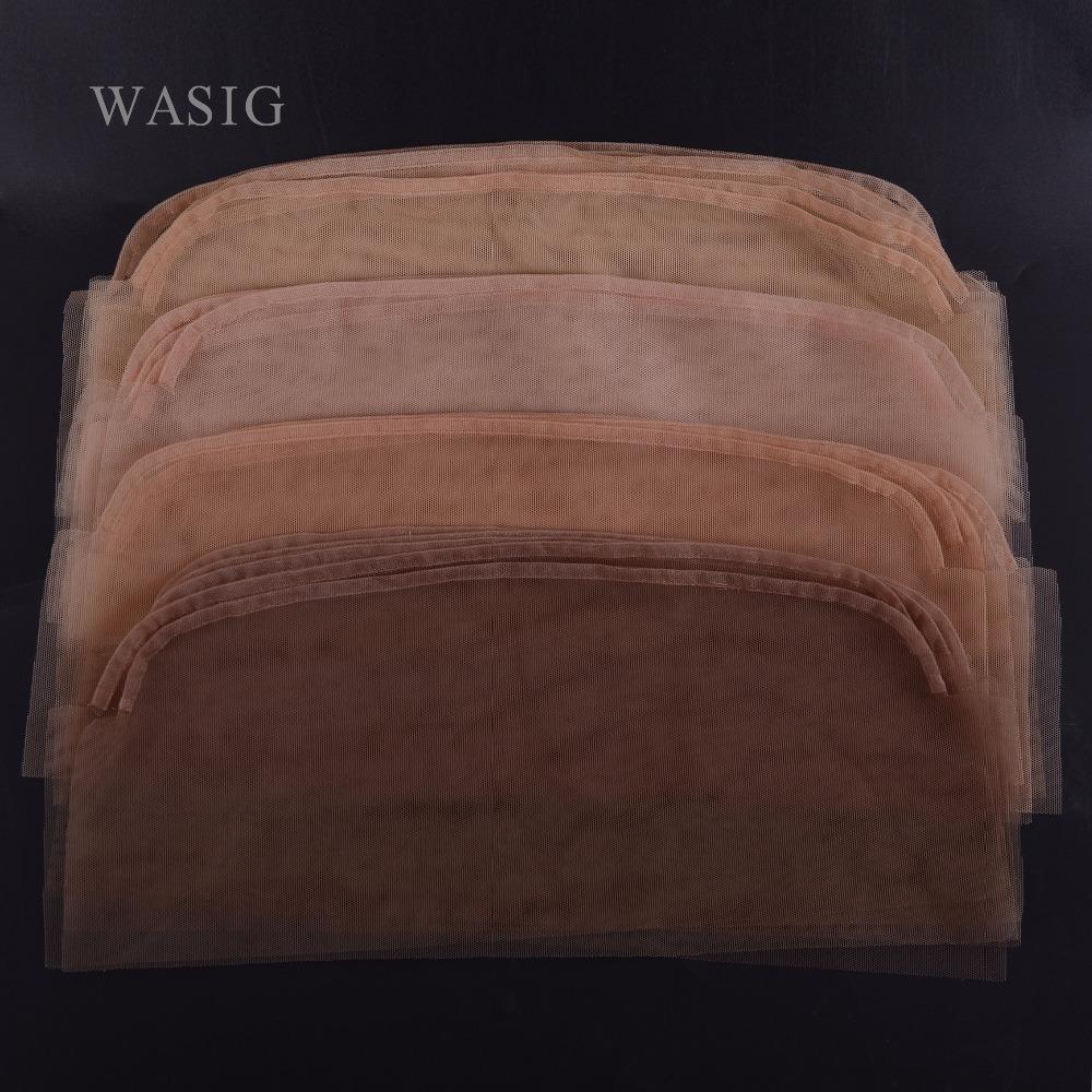 [해외]12pcs / lot 레이스 상단 폐쇄가 발을 만들기레이스 넷 지하 기초 13 * 4 인치/12pcs/lot Lace Net Basement Foundation for Making Lace Top Closure Wigs Making  13*4 inch