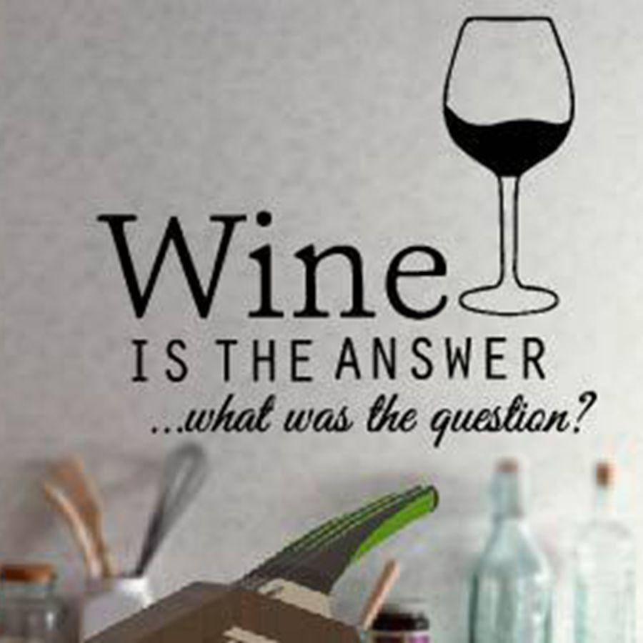 [해외]?재미있는 부엌 스티커 와인 데칼, 부엌 벽 장식 비닐 와인 장식, F2052m (35x30cm)/ funny kitchen stickers wine decals ,kitchen wall decor vinyl wine decoration ,F2052m(35x30