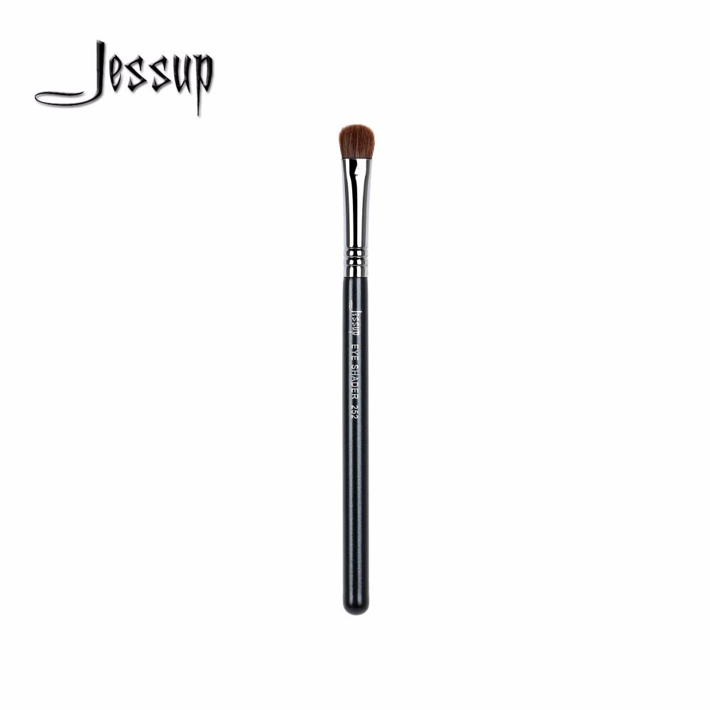 [해외]전문가를Jessup 1pcs 합성 머리 목제 손 눈 붓 & amp; 초보자 아이 섀도우 싱글 메이크업 브러쉬 252/Jessup 1pcs  Synthetic Hair Wooden Handle Eyes Brush for Professionals &