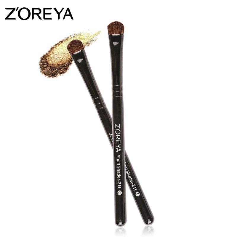 [해외]ZOREYA 브랜드 단일 블랙 아이 섀도우 메이크업 브러쉬 짧은 합성 피부 미용 도구 파악 및 사용 용이/ZOREYA Brand Single Black Eye Shadow Makeup Brushes Short Synthetic Hair Cosmetic Tools