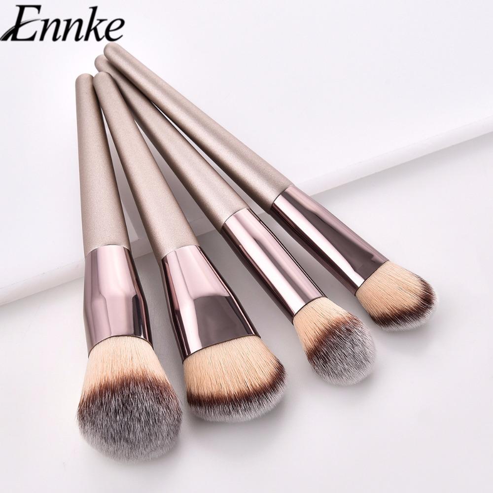 [해외]메이크업 브러쉬 세트 4 개 세트 / 파우더 블러쉬 컨투어 아이 섀도우 브러쉬 메이크업 여행용 뷰티 메이크업 브러쉬 코스메틱 도구/Makeup Brushes Set 4 pcs/set Powder Blush Contour Eye Shadow Brushes Make