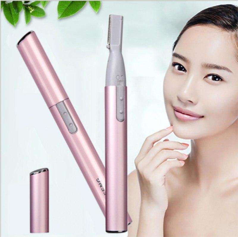 [해외]/Women Electric Eyebrow Trimmer Portable Mini Body Shaver Makeup Accessories Hair Remove Razor For Ladies 100pcs