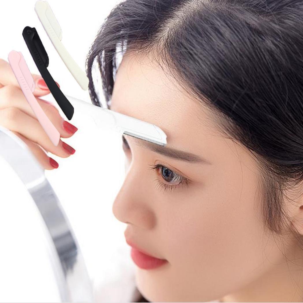 [해외]/New Fashion Makeup Eyebrow Razor Foldable Trimmer Shaper Shaver Hair Set(3pcs) Remover Tool 10.5cm/4.1 Set