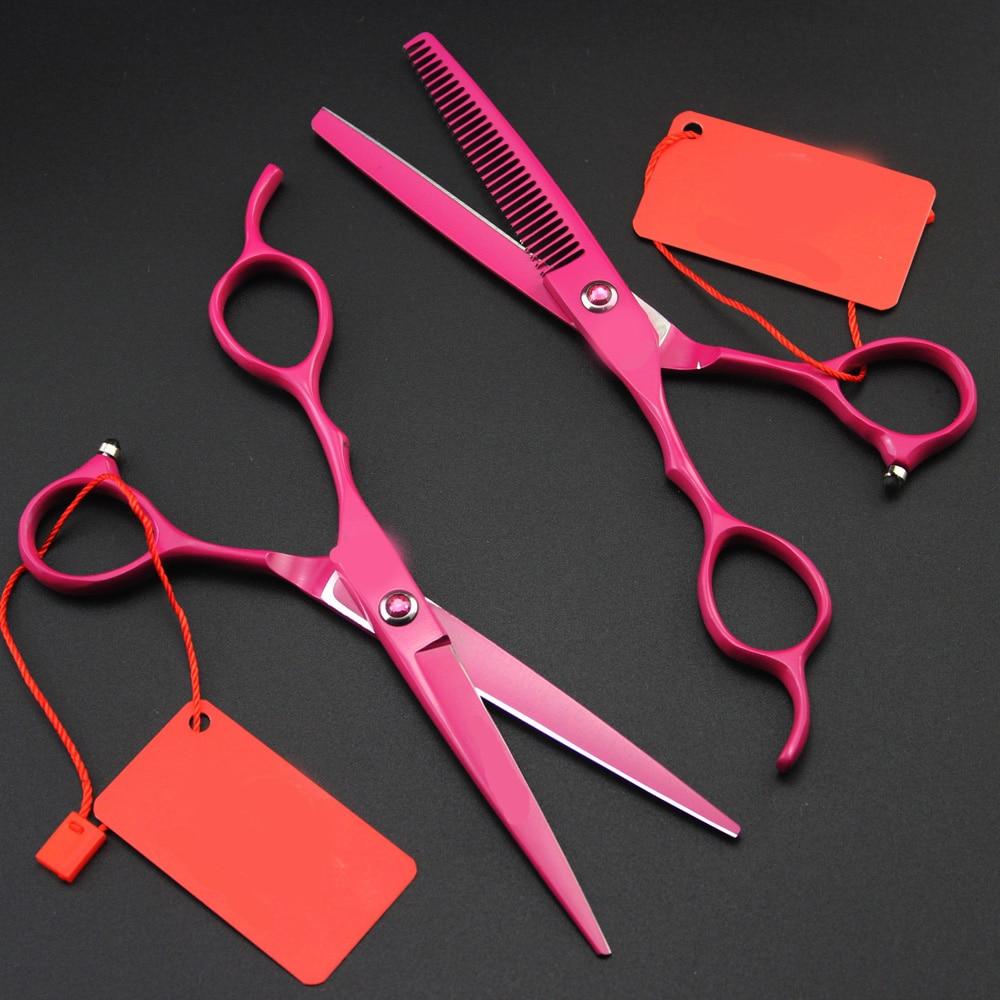 [해외]6inch left hand Scissor hair Grooming Shear Clipper Professional Hairdressing Tool scissors Groomer Accessory/6inch left hand Scissor hair Groomin