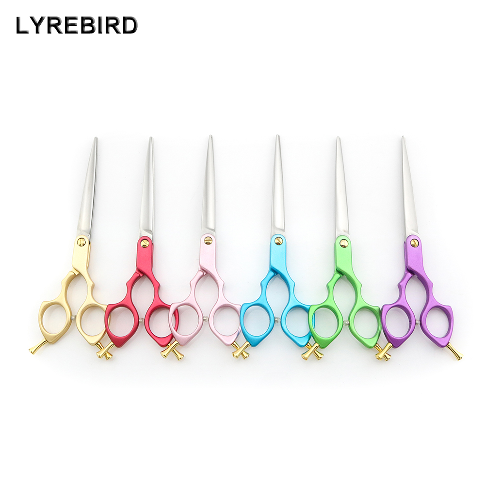 [해외]Professional Pet Dog Grooming Scissors 6.5 Inch Dog Hair Shears 6 Color Handle Japan 440C Lyrebird TOP CLASS 5PCS/ LOT NEW/Professional Pet Dog Gr