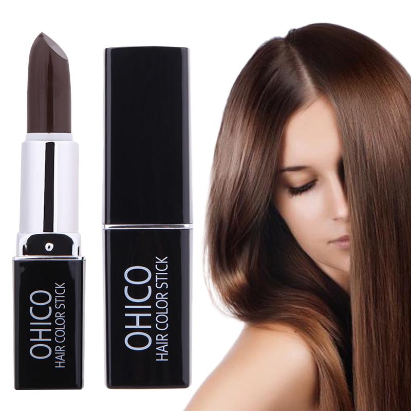[해외]/Temporary Hair Dye  Lipstick hair cream Make Up Styling Products Uni One-Off Hair Color DIY Styling One-Off