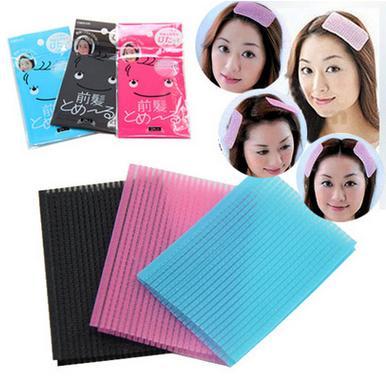[해외]20pcs Magic Posting bang stick hair accessories han edition ladies`/20pcs Magic Posting bang stick hair accessories han edition ladies`