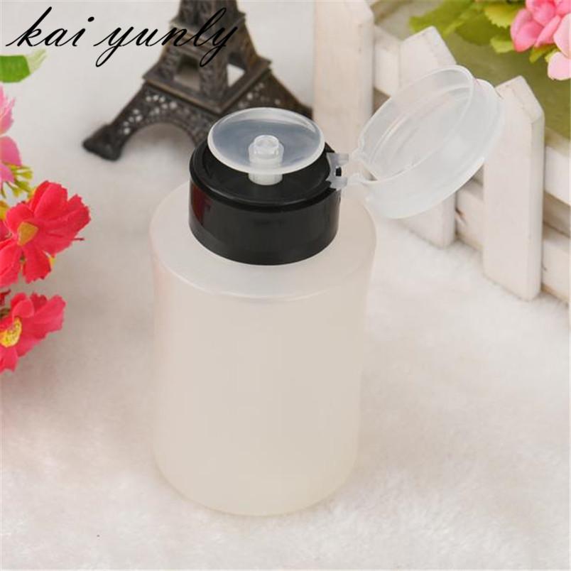 [해외]1PCS 펌프 디스펜서 병 네일 아트 아세톤 폴란드어 메이크업 리무버 매니큐어 무료 Shippiong 10 월 2 일/1PCS Pump Dispenser Bottle Nail Art Acetone Polish Makeup Remover Manicure Free