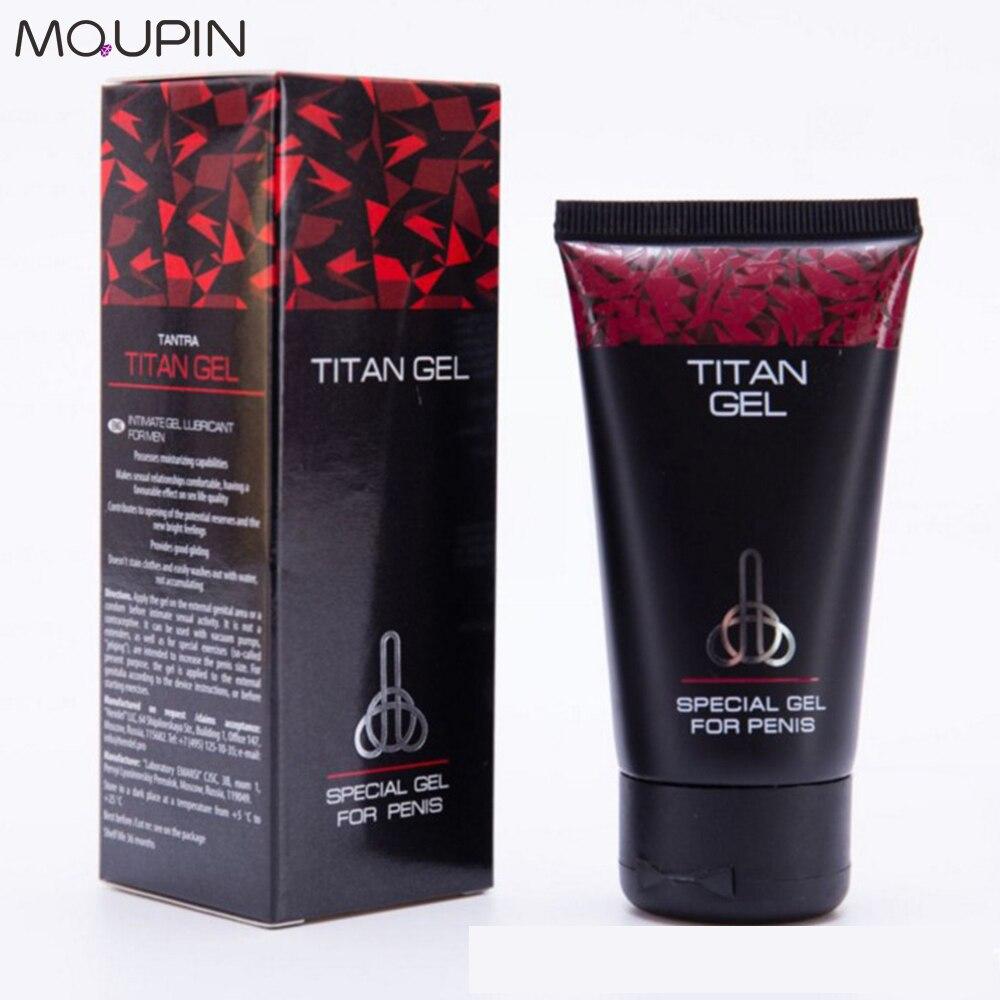 [해외]/MQUPIN Hot cream Russian Titan Gel Original Big dick Increase Cock Enlargement For Man Erection Cream Essential oil  Increase