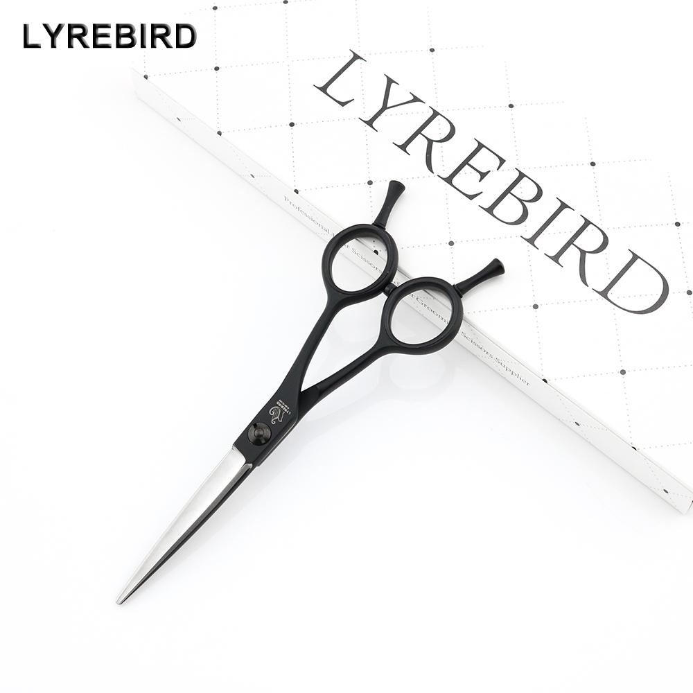 [해외]머리 절단 가위 5.5 인치 일본 헤어 가위 Truing 가위 칼 블레이드 A 타입 블랙 핸들 F52 Lyrebird HIGH CLASS NEW/Hair Cutting Scissors 5.5 INCH Japan Hair Shears Truing Scissors