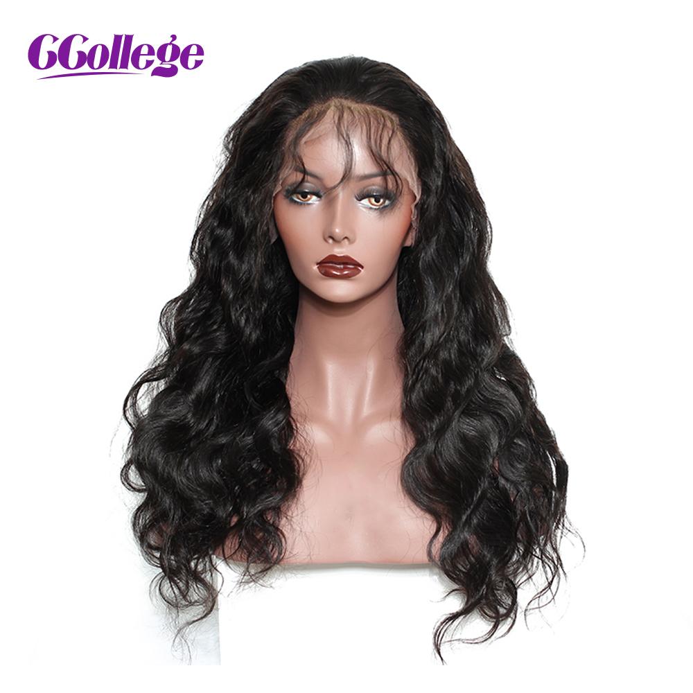 [해외]CC 컬리지 머리 레이스 프론트 인간의 머리 가발 내츄럴 컬러 브라질 바디 웨이브 레미 헤어 레이스 가발 for Black Women 베이비 헤어/CCollege Hair Lace Front Human Hair Wigs Natural Color Brazilian