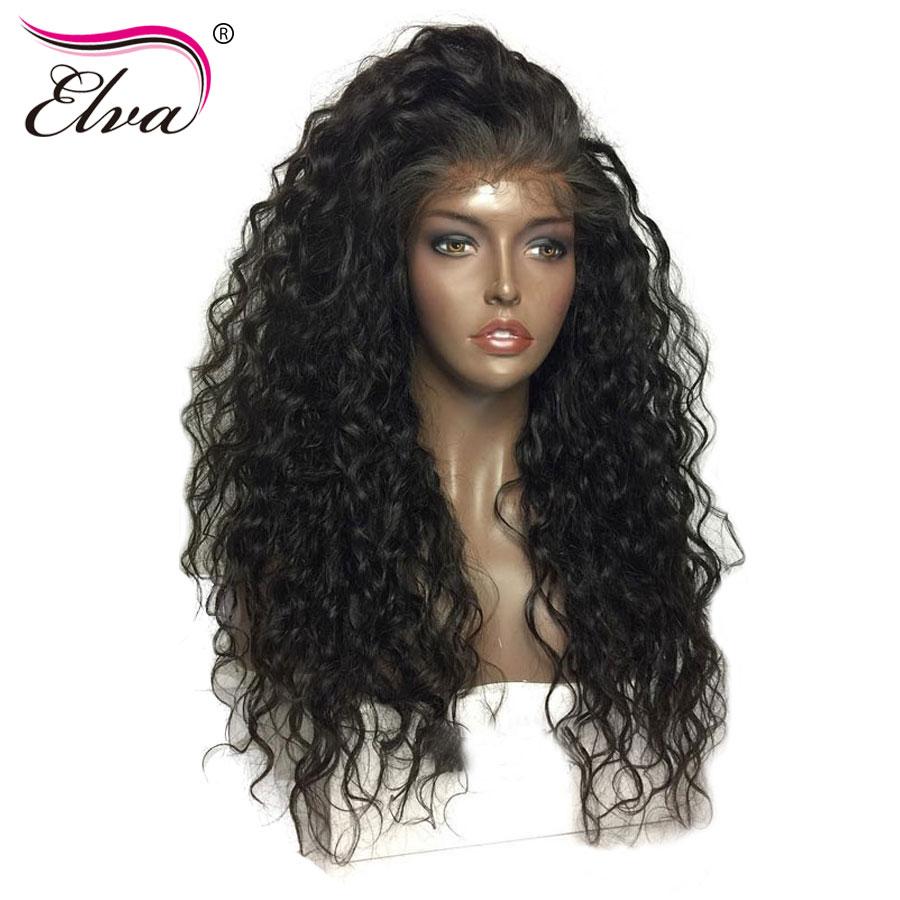 [해외]엘바 헤어 컬리 180 % 밀도 360 레이스 정면 가발 베이비 헤어 프리 뽑아 낸 자연 헤어 라인 10-22 && 브라질 레미 헤어 가발/Elva Hair Curly 180% Density 360 Lace Frontal WigsBaby Hair