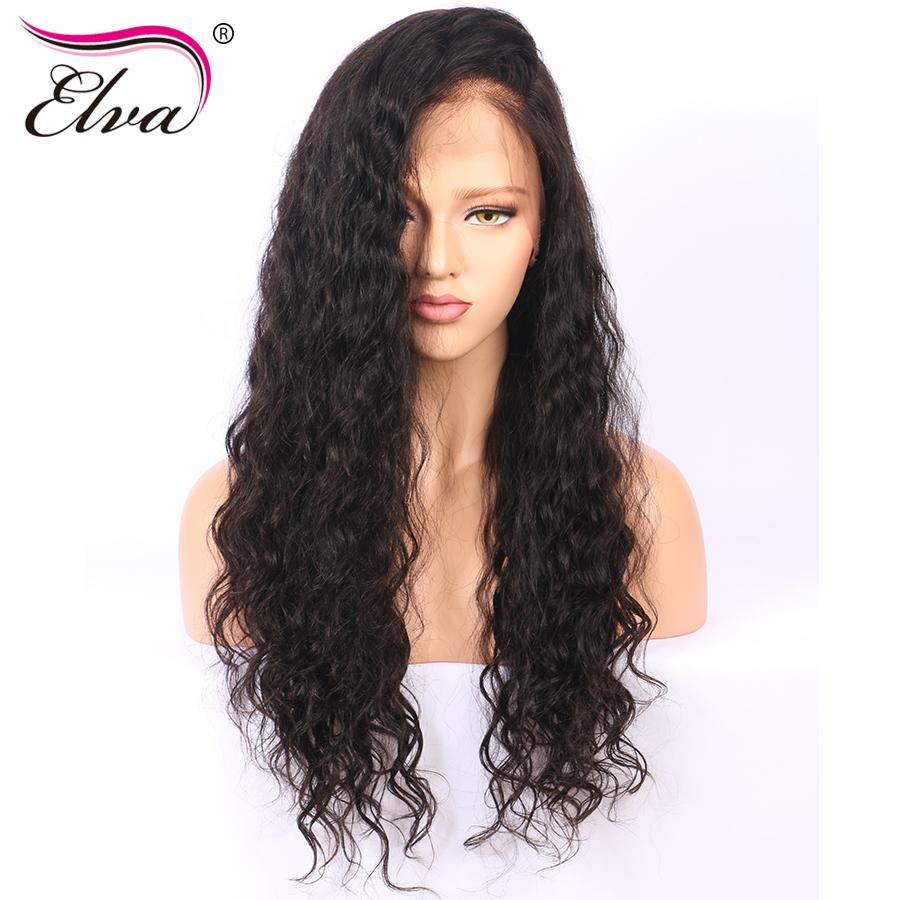 [해외]엘바 헤어 그루브 인체 헤어 레이스 앞머리 가발 헤어 사전 헤어 스타일링 헤어 웨이브 브라질 레미 헤어 가발 10 && - 24 &&/Elva Hair Glueless Human Hair Lace Front WigBaby Hair P