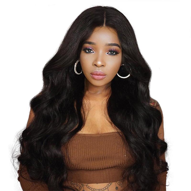 [해외]250 % Denstiy 레이스 전면 인간의 머리 가발 베이비 헤어 사전 브라질의 바디 웨이브 레이스 프론트 가발 레미 당신 헤어 수 /250% Denstiy Lace Front Human Hair WigsBaby Hair Pre Plucked Brazilian