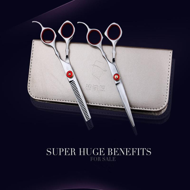[해외]6.0inch 스미스 추 전문 헤어 가위 미용 가위 헤어 이발 가위 숱이 가위 미용사/6.0inch Smith Chu Professional hair scissors hairdressing scissors hair barber scissors thinning s