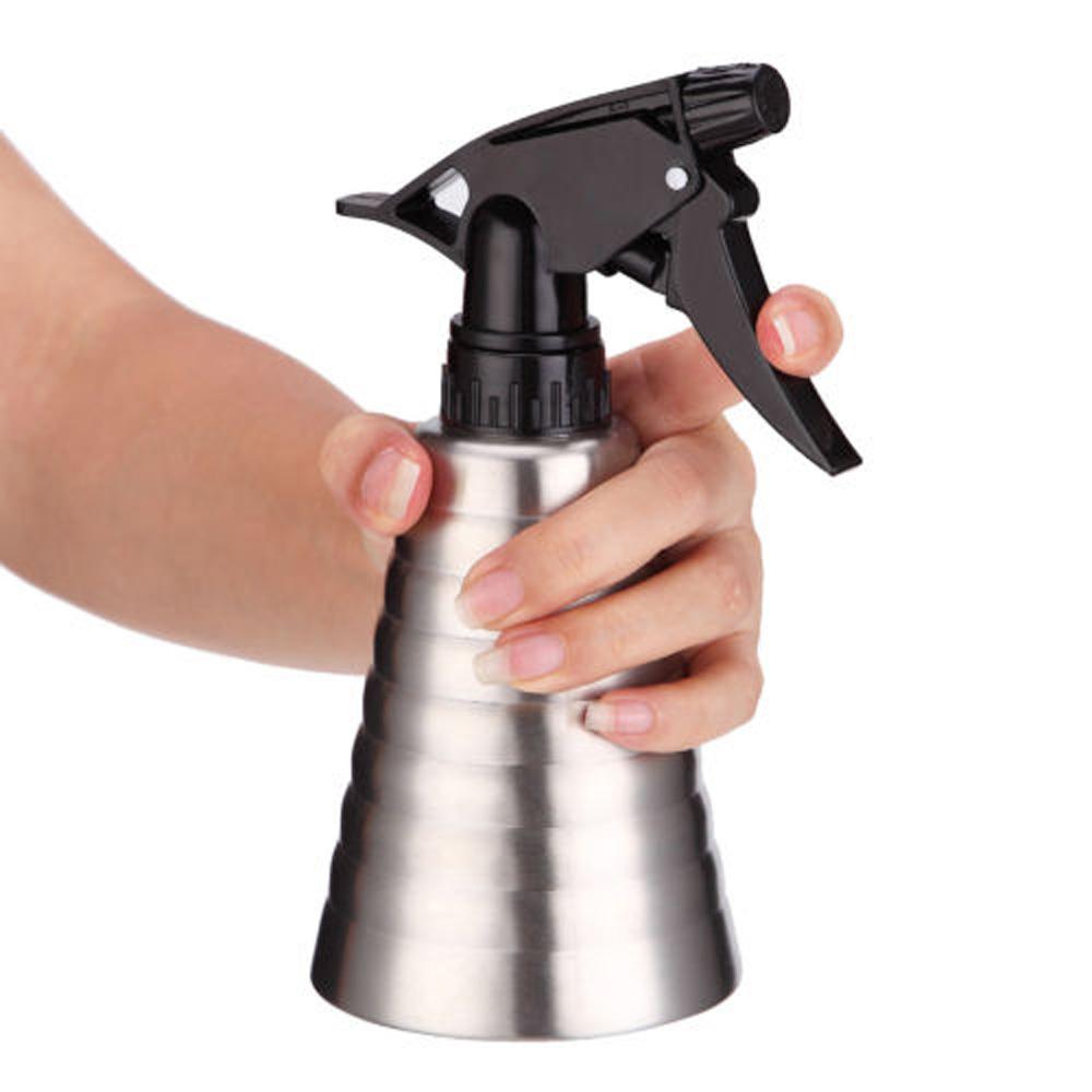 [해외]스프레이 주전자 스프링클러 핸드 압력 분사 분무기 스테인레스 스틸/Spray kettle Water sprinkler Hand pressure jetting Atomizer Stainless steel